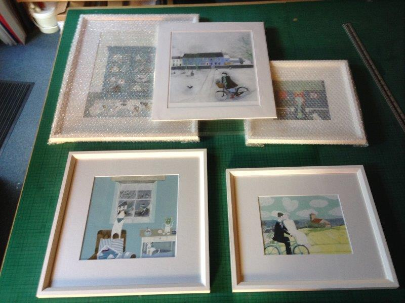 picture framing mounting